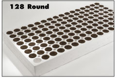 Product # PQ20B128 PL *Size 35/65* 180 Trays/pl * 23,040 Q Plugs
