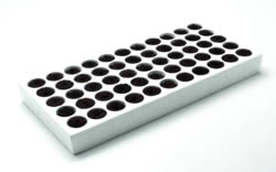 Product # PQ20B55PL * Cell size 45/45 *400 trays/pl * 22,000 Q plugs/pl